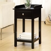 Hokku Designs Jayda Versatile End Table; Black