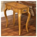 Accent Treasures End Table; Light Wood