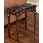 Accent Treasures Venice Accent Table; Dark Wood