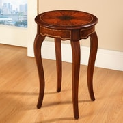 Accent Treasures End Table; Brown