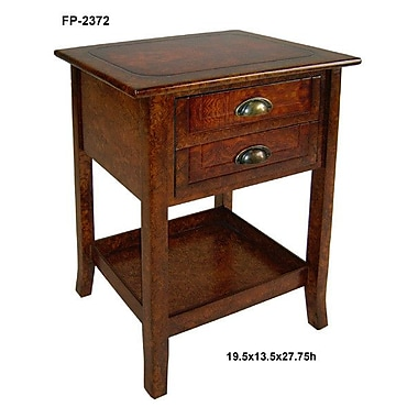 Cheungs Wooden End Table