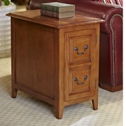 Leick Favorite Finds End Table; Medium Oak