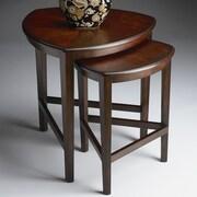 Butler Butler Loft 2 Piece Nesting Tables; Chocolate