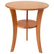 Manchester Wood Contemporary End Table; Golden Oak