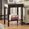 Convenience Concepts French Country End Table; Brown