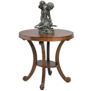 Reual James Regency End Table; Brown