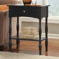Alaterre Shaker Cottage End Table; Black