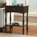Alaterre Shaker Cottage End Table; Chocolate