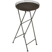 Zentique Inc. Metal End Table