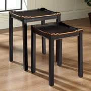 Accent Treasures Opal 2 Piece Nesting Tables