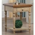 Winners Only, Inc. Quails Run End Table; Almond / Wheat