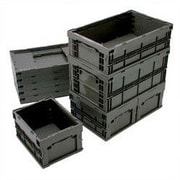 Quantum Collapsable Storage Containers; 24'' L x 15'' W x 7 1 /2'' H