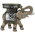 Oriental Furniture Standing Elephant Statue