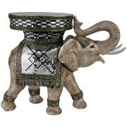 Oriental Furniture Standing Elephant Statue