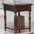 Winners Only, Inc. Quails Run End Table; Cherry