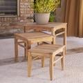 SEI Smiths 3 Piece Nesting Tables