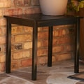 Wildon Home   Charter End Table; Black