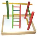 A&E Cage Co. 20''x15''x14'' Wood Tabletop Play Station