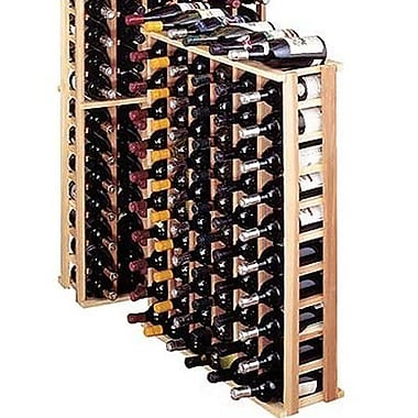 Wine Cellar Premium Redwood 66 Bottle Floor Wine Rack