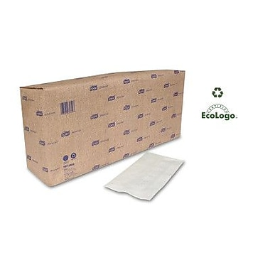 TORK (1740 per Carton)  Advanced Dinner 3-Ply White Napkins