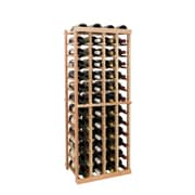 Wine Cellar Vintner Series 52 Bottle Floor Wine Rack; Midnight Black