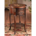 AA Importing End Table; Medium Brown