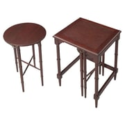 Bailey Street 2 Piece Nesting Tables; Cherry