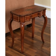 Accent Treasures End Table; Medium Wood