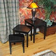 Wildon Home   Bay Shore 3 Piece Nesting Tables; Black