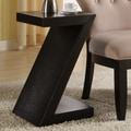 Coast to Coast Imports Accent ''Z'' End Table; Black
