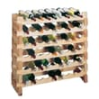 Wine Cellar Country Pine 9 Bottle Wine Rack (Set of 2)