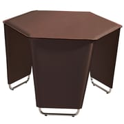 Bellini Modern Living Movado End Table; Brown
