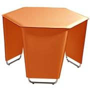 Bellini Modern Living Movado End Table; Orange
