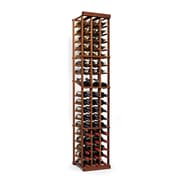 Wine Enthusiast Companies N'finity 54 Bottle Floor Wine Rack; Dark Walnut