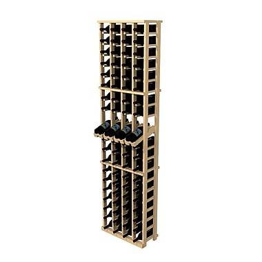 Wine Cellar Rustic Pine 80 Bottle Wall Mounted Wine Rack