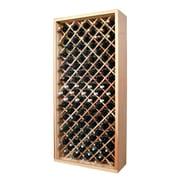 Wine Cellar Designer Series 90 Bottle Wine Rack; Unstained Premium Redwood