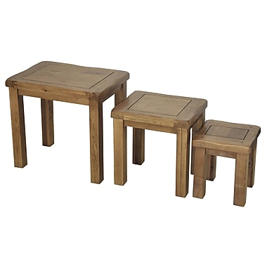 Gallerie Decor Oakdale 3 Piece Nesting Tables