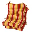Greendale Home Fashions Outdoor Seat / Back Chair Cushion (Set of 2); Carnival
