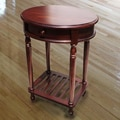 D-Art Collection Bellingham Oval End Table