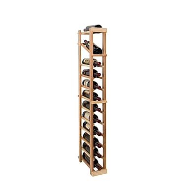 Wine Cellar Vintner Series 12 Bottle Floor Wine Rack; Unfinished