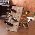 Wildon Home   Wicklow 24 Bottle Riddling Wine Rack
