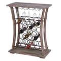 Woodland Imports 26 Bottle Wine Rack