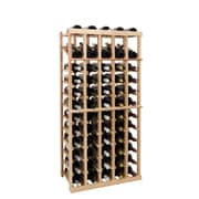 Wine Cellar Vintner Series 60 Bottle Floor Wine Rack; Classic Mahogany