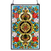Chloe Lighting Eureka Sonara Victorian Window Panel