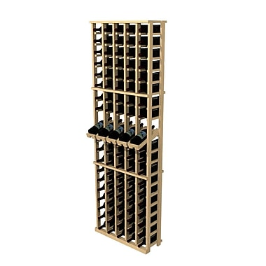 Wine Cellar Rustic Pine 100 Bottle Wall Mounted Wine Rack