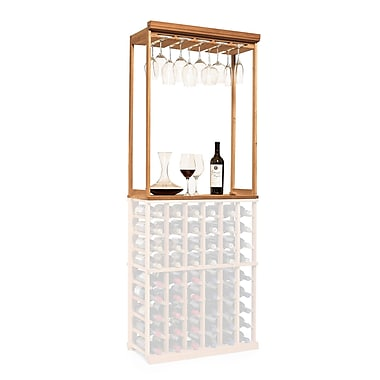 Wine Enthusiast Companies N'finity Tabletop Wine Glass Rack; Natural