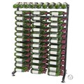 VintageView 234 Bottle Wine Rack; Black