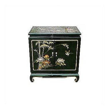 Oriental Furniture Japanese End Table