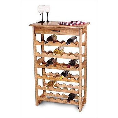 Catskill Craftsmen 36 Bottle Floor Wine Rack