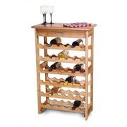 Catskill Craftsmen 36 Bottle Floor Wine Rack